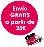 Gastos de envío gratuitos a partir de 35€
